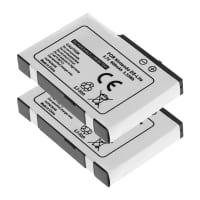 2x Batterie pour Nintendo DS Lite - USG-001,USG-003 (900mAh) Batterie Rechange
