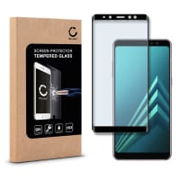 Panzerglas für Samsung Galaxy A8 Plus (2018 - SM-A730) - Tempered Glass (HD-Qualität / 3D Full Cover / 0,33mm / 9H)