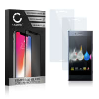 2x Displaybeschermglas Sony Xperia XZ Premium (3D Full Cover, 9H, 0,33mm, Edge Glue) Tempered Glass