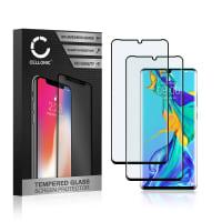 2x Protection d'écran en verre Huawei P30 Pro (3D Case-friendly, 9H, 0,33mm, Full Glue) Verre trempé