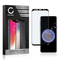 Screen protector glass Samsung Galaxy S9 Plus (SM-G965) (3D Full Cover, 9H, 0,33mm, Full Glue) Tempered Glass