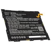 Battery for Samsung SM-T590 Galaxy Tab A 10.5 Wi-Fi, Samsung SM-T595 Galaxy Tab A 10.5 LTE, SM-T590N - EB-BT595ABE, GH43-04840A (7300mAh ) Replacement battery