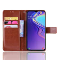 Case for Samsung Galaxy M20 (SM-M205) - PU Leather, Brown Case