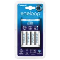 Chargeur Panasonic Eneloop BQ-CC51 Basic incl. 4x Eneloop BK-3MCCE (AA - HR6, HR06, LR6)