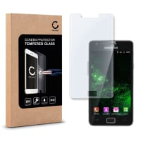 Cristal protector de la pantalla para Samsung Galaxy S2 - Tempered Glass (Calidad HD / 2.5D / 0,33mm / 9H)