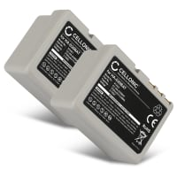 2x Batterie pour Casio Cassiopeia IT-600 / IT-600M30U / IT-600M30UC - HA-D20BAT (3700mAh) Batterie de remplacement