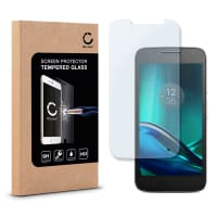 Cristal protector de la pantalla para Motorola / Lenovo Moto G4 Play - Tempered Glass (Calidad HD / 2.5D / 0.33mm / 9H)
