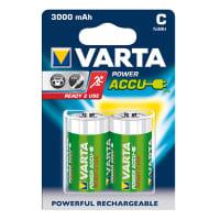 Piles batteries C / Baby (LR14) Varta Power Accu Varta 56714 2x