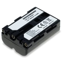 NP-FM500H Battery for Sony SLT-A58 SLT-A77 SLT-A65 SLT-A57 ILCA-77M2 SLT-A99 DSLR-A200, A68, A7 II, A77 II, A300, A350 1400mAh Digital Camera Battery Replacement Spare Battery Backup Power Pack