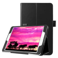 Smart Case for Samsung Galaxy Tab S2 8.0 (SM-T710 / SM-T713 / SM-T715 / SM-T719) - Artificial leather, black Case