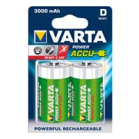 Akkus Batterien D / Mono Varta Power Accu Varta 56720 (3,000mAh) 2x