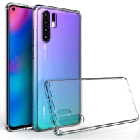 Backcover for Huawei P30 Pro - Silikon, Gjennomsiktig lomme, pocket, shell, skal