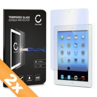 2x Screen protector glass for Apple iPad 2 / iPad 3 / iPad 4 (Crystal clear)