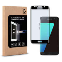 Displaybeschermglas voor Samsung Galaxy S7 Edge (SM-G935 / SM-G935F) - Tempered Glass (HD kwaliteit / 3D Full Cover / 0,33mm / 9H)
