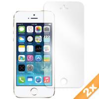 2x Displaybeschermfolie voor Apple iPhone 5 / 5S (Transparant)