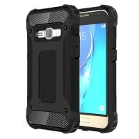 Back Cover per Samsung Galaxy J1 (2016 / SM-J120) - TPU, nero Custodia Borsa Guscio