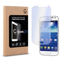 Protection d'écran en verre pour Samsung Galaxy S4 Mini (GT-i9195) - Tempered Glass (Qualité HD / 2.5D / 0,33mm / 9H)