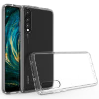 Backcover for Huawei P20 Pro - Silikon, Gjennomsiktig lomme, pocket, shell, skal