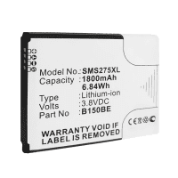 Battery for Samsung Galaxy Ace 3 LTE - B105BE,EB-B105BEBECWW,EB-B105BE (1800mAh) Replacement battery