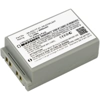 Battery for Casio DT-X200 DT-X200-10E DT-X200-20E DT-X8 DT-X8-10C DT-X8-10C-CN DT-X8-10E DT-X8-10J DT-X8-20C DT-X8-20E DT-X8-20J - 55-002177-01,HA-K23XLBAT (3000mAh) Replacement battery
