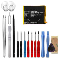 Battery for Motorola One / Moto G7 / P30 Play - JE40 (2900mAh) + Tool-kit, Replacement battery