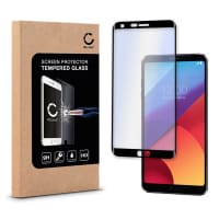 Screen protector glass for LG G6 - Tempered Glass (HD-Quality / 3D Full Cover / 0,33mm / 9H)