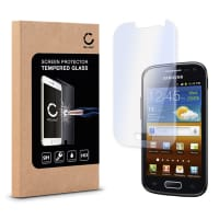 Screen protector glass for Samsung Galaxy Ace 2 (GT-I8160) - Tempered Glass (HD-Quality / 2.5D / 0,33mm / 9H)