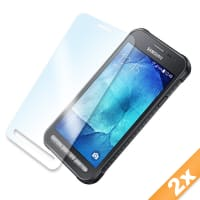 2x Screen protector for Samsung Galaxy Xcover 3 (SM-G388F) (Crystal clear)
