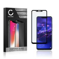 Protection d'écran en verre Huawei Mate 20 Lite (3D Case-friendly, 9H, 0,33mm, Full Glue) Verre trempé