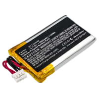 Battery for DeLorme AG-008727-201, INCRH20, INRCH25, InReach Explorer, inReach SE, Q639603N, T7V1315 - MYT783968 (2000mAh) Replacement battery