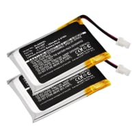 2x Battery for Plantronics CS60, Plantronics HL10 - 452128,6535801,B511007 (180mAh) Spare Battery Replacement