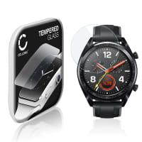 Panzerglas Huawei Watch GT (2.5D, 9H, 0,33mm, Full Glue) Displayschutz Tempered Glass