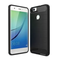 Back Cover for Huawei Nova - TPU, black Case