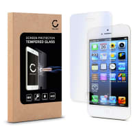 Cristal protector de la pantalla para Apple iPhone 4 / 4S - Tempered Glass (Calidad HD / 2.5D / 0,33mm / 9H)