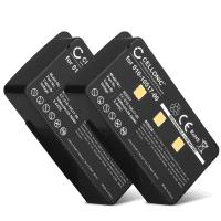 2x Battery for Garmin GPSMAP 276 GPSMAP 276c GPSMAP 296 GPSMAP 396 GPSMAP 496 - 010-10517-00,010-10517-01,011-00955-00 (3400mAh) Replacement battery