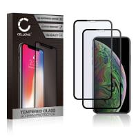 2x Protection d'écran en verre iPhone 11 Pro (3D Full Cover, 9H, 0,33mm, Full Glue) Verre trempé