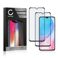 2x Screen protector glass Xiaomi Mi 9 Lite (3D Full Cover, 9H, 0,33mm, Full Glue) Tempered Glass