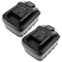 2x Batteri 14.4V, 2Ah, Li-Ion for CMI C-ABS 14.4 Li - C-AS 14.4 Reservebatteri