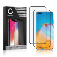 2x Skærmbeskytter glas Huawei P40 Pro (3D Full Cover, 9H, 0,33mm, Full Glue) Screen Protector