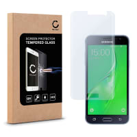 Screen protector glass for Samsung Galaxy J3 Duos (SM-J320) - Tempered Glass (HD-Quality / 2.5D / 0,33mm / 9H)