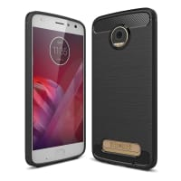 Back Cover for Moto Z2 Play / Moto z² Play - TPU, black Case