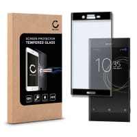 Displaybeschermglas voor Sony Xperia XZs - Tempered Glass (HD kwaliteit / 3D Full Cover / 0,33mm / 9H)