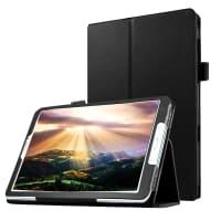 Smart Case für Samsung Galaxy Tab E 9.6 (SM-T560 / SM-T560N / SM-T561) - Kunstleder, schwarz Tasche Case Schutzhülle
