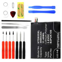 Battery for HTC Desire 825 incl. Tool-kit - B2PUK100, 35H00258-03M (3000mAh) Replacement battery
