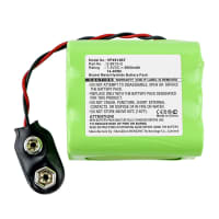 Battery for Visonic Powermax - 0-9913-Q (2000mAh) Replacement battery