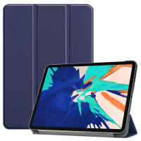 Smart Case for Apple iPad 12,9 (2020) - A2229, A2233 - synthetic Leather, Blue Case