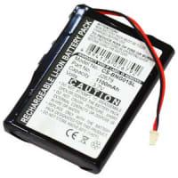 Batterie pour Blaupunkt TravelPilot Lucca 3.3 (1100mAh)