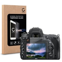 Cristal protector de la pantalla para Nikon D750 (transparente)