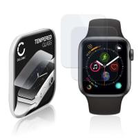 2x Cristal protector de la pantalla Apple Watch 4 / 5 - 40mm (2.5D, 9H, 0,33mm, Full Glue) Protector pantalla