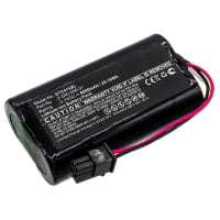 Battery for SoundCast MLD414 Melody - 2-540-006-01 6800mAh Replacement battery